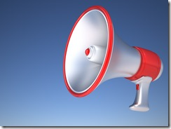 bullhorn blue background_3