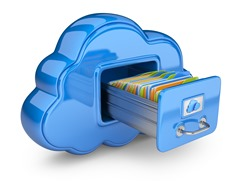 cloud storage file cabinet drawer and folders_3