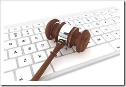 law technology gavel on keyboard_3