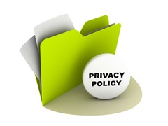privacy policy with green folder_thumb